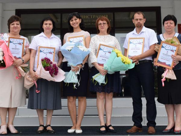 В Каневском районе наградили местных победителей Всероссийской акции «Диктант Победы»